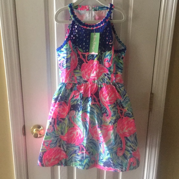 cf2d69925db2 Lilly Pulitzer Girls  Kinley Dress Sz 12 NWT